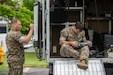 U.S. Marines conduct a improvised explosive device exercise aboard MCAS Iwakuni, Japan, May 19.