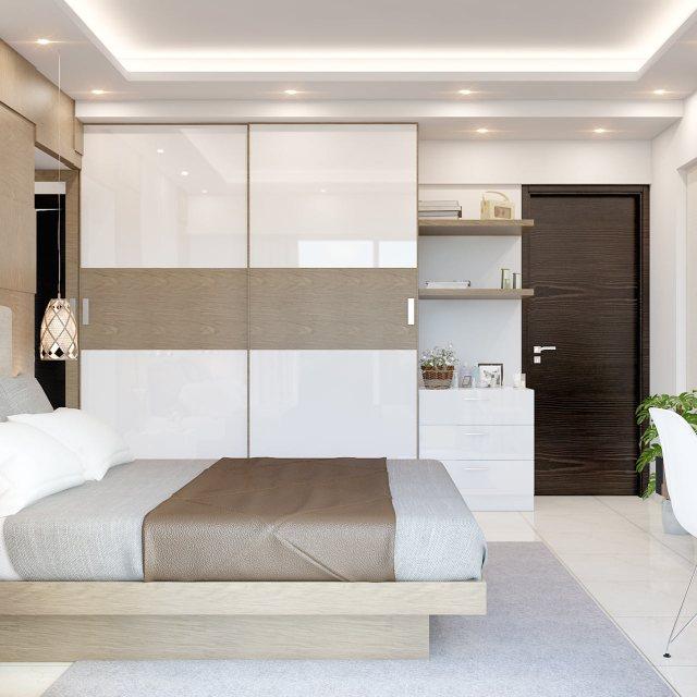 Latest Wardrobe Design For Bedroom In 2020 | Design Cafe