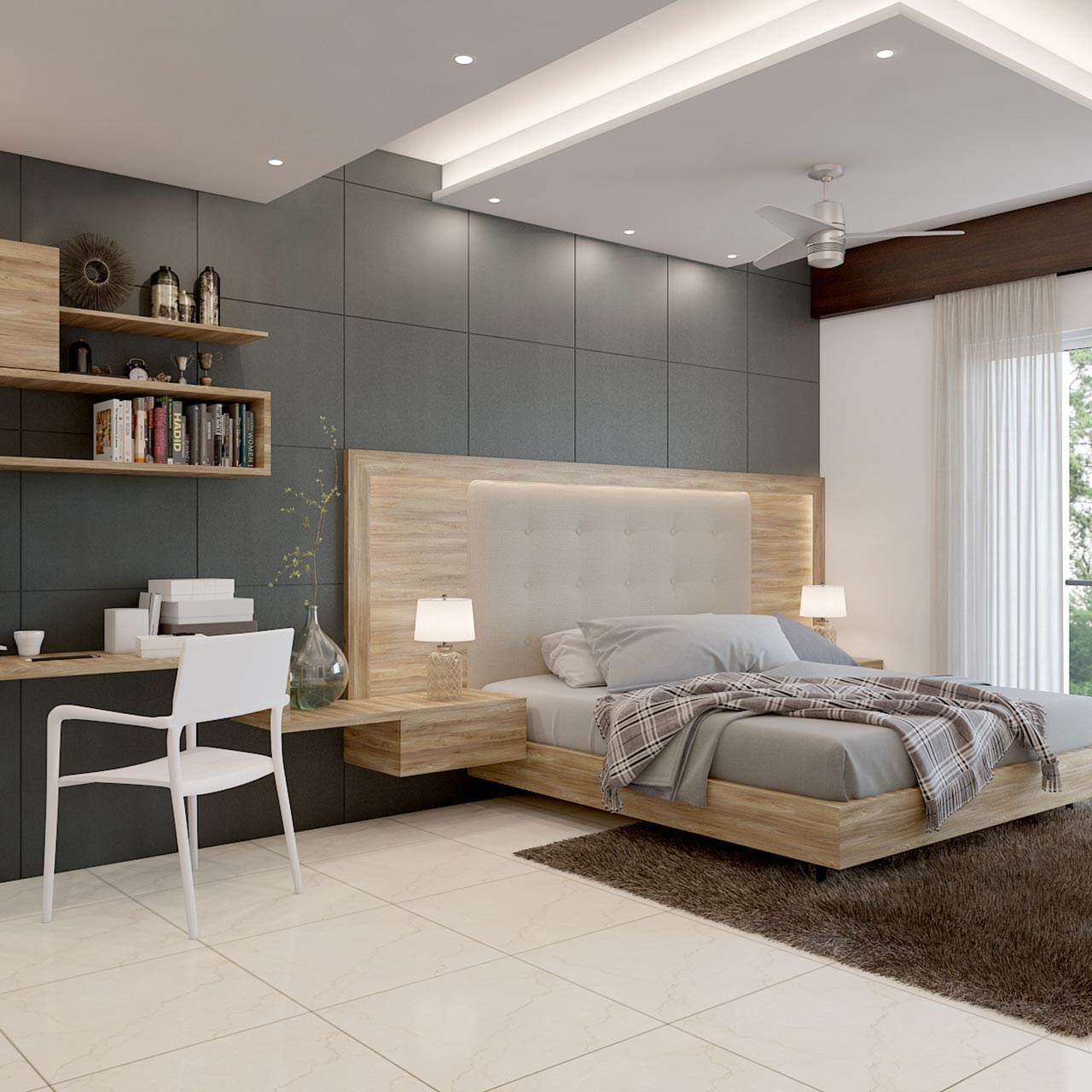 Best False Ceiling Designs For Your Bedroom   Design Cafe on Simple Best Bedroom Design  id=82583