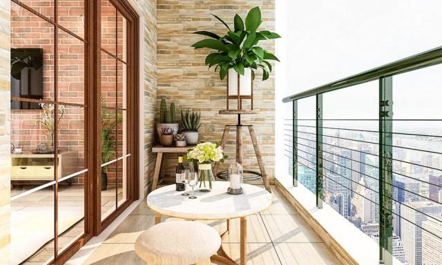 Balkonunuz için küçük balkon dekorasyon fikirleri
