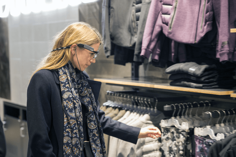 In-store eye tracking research