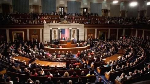 Vista de una sesión del Senado de EEUU.