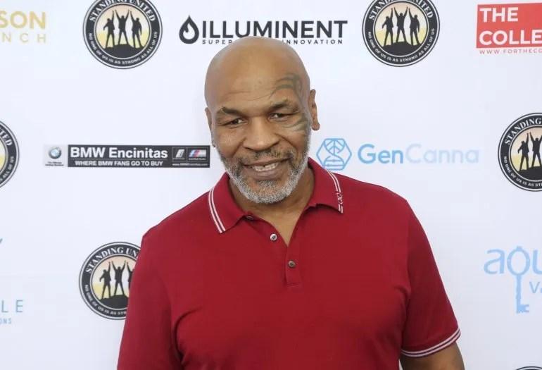 Fotografía del 2 de agosto de 2019 del excampeón mundial boxeo, el peso completo Mike Tyson, en Dana Point, California.
