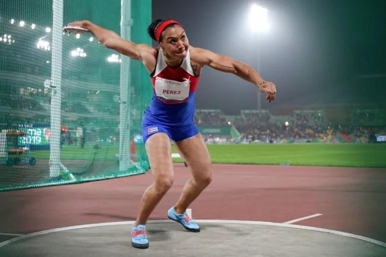 Yaimé Pérez, atleta de Cuba clasificada para los Juegos Olímpicos de Tokio 2020