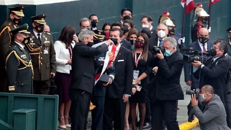 Pedro Castillo, flamante presidente de Perú.