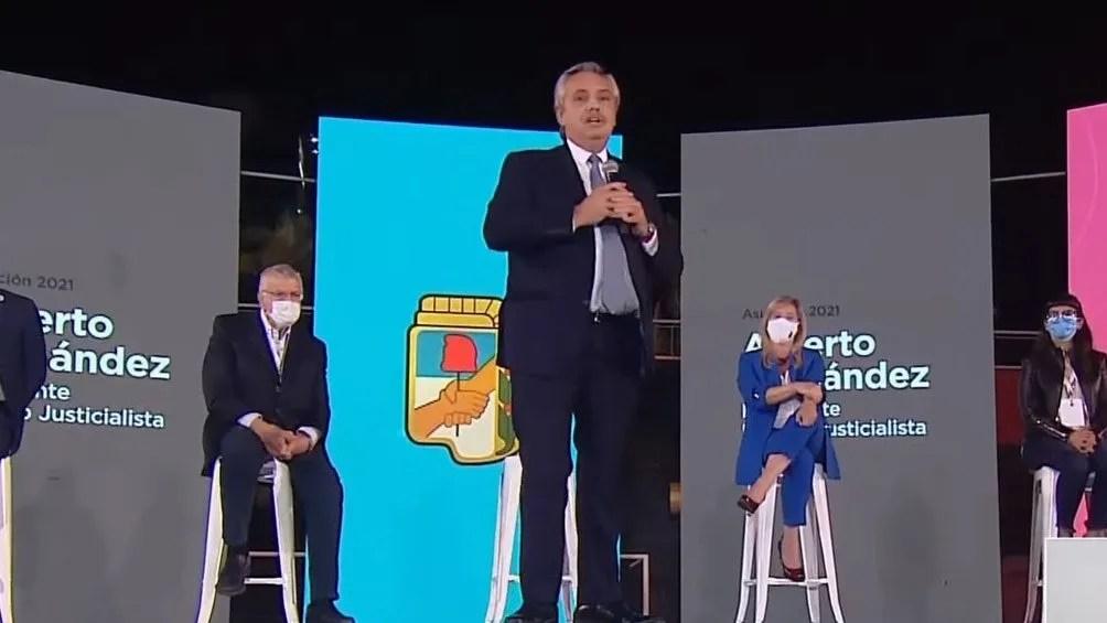 Fernández asumió la presidenta del Partido Justicialista en lugar de Gioja.