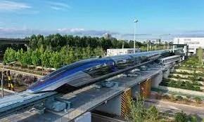 China: moderno tren.