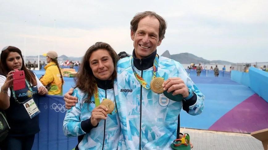 Santiago Lange y Cecilia Carranza, los abanderados olímpicos