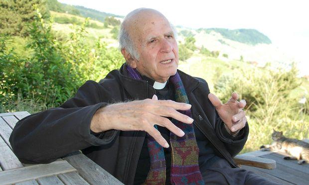 Pater Boulad bei einem Besuch in der Schweiz anno 2015.