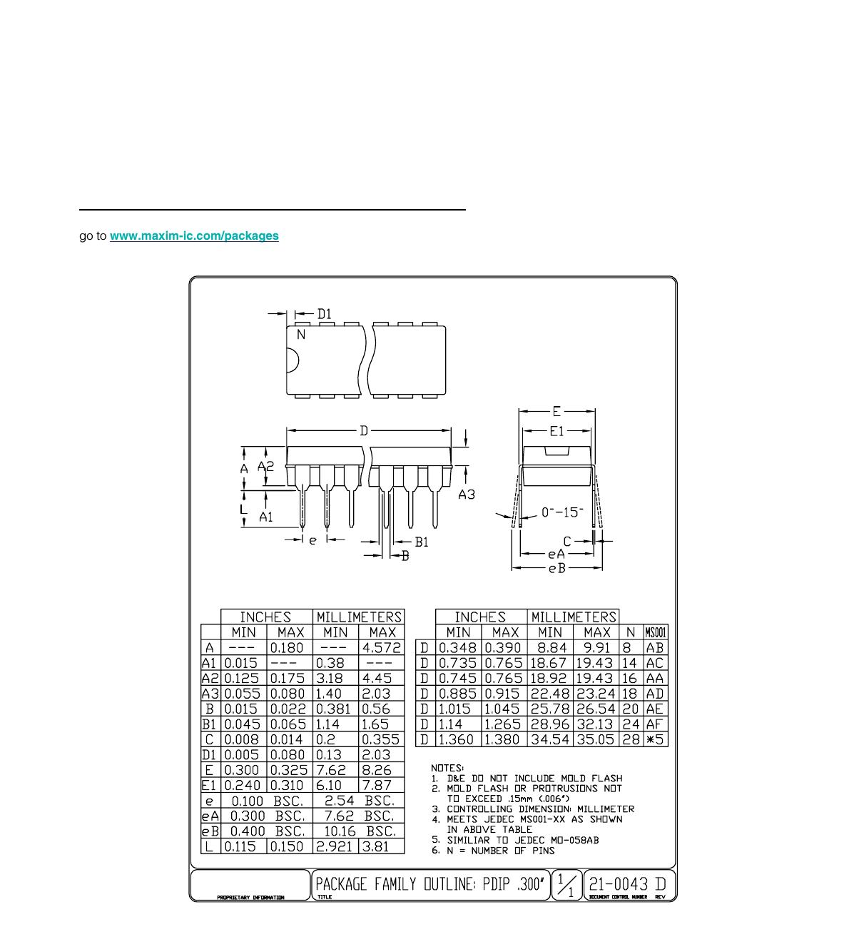 Max 21 Datasheet