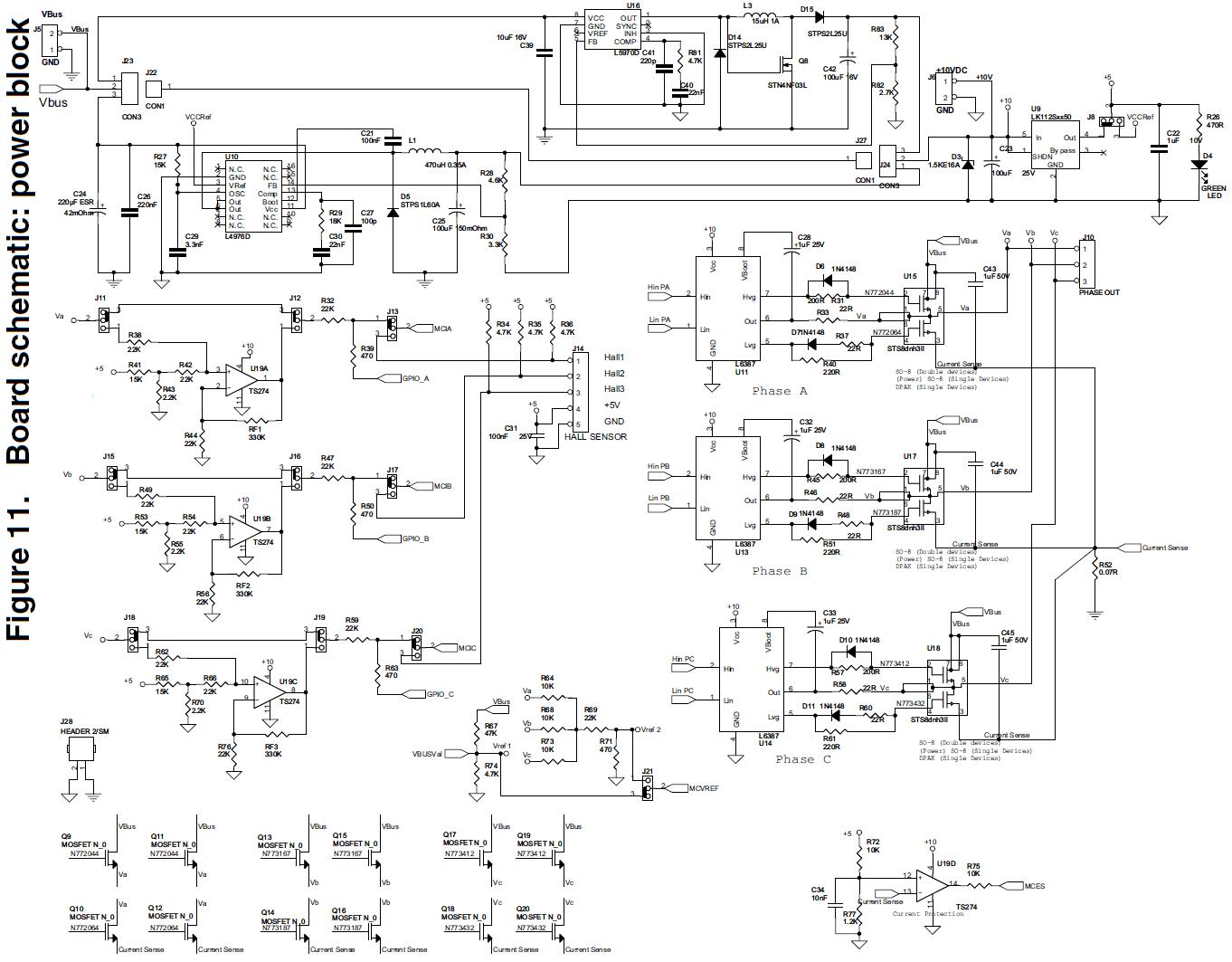 Bldc Motor Controller Schematics