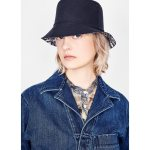 Reversible Teddy D Small Brim Bucket Hat Black Cotton Blend Accessories Women S Fashion Dior