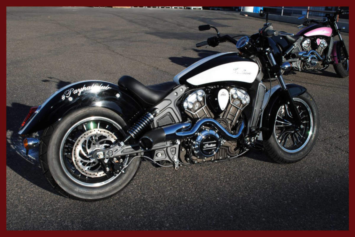 indian race tech series scout performance exhaust 2014 to 2021