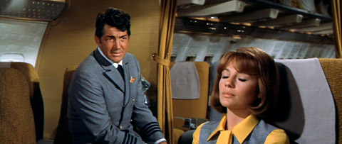 Dean Martin and Jacqueline Bisset in Airport.