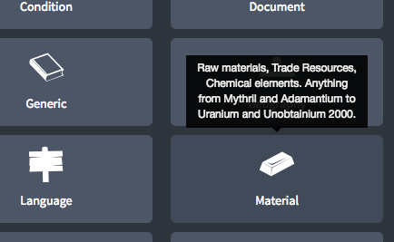 Material Template