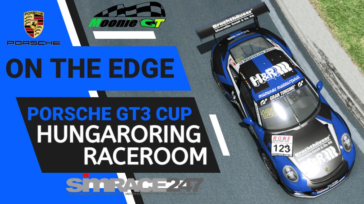 Mr Watton: Porsche GT3 Cup at Hungaroring RaceRoom