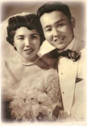 Henry & Helen Yasuda's wedding photo, 1954