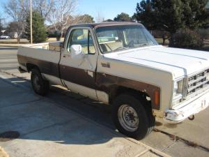 '79 Chevy Custom Deluxe 34 ton pickup  NexTech Classifieds