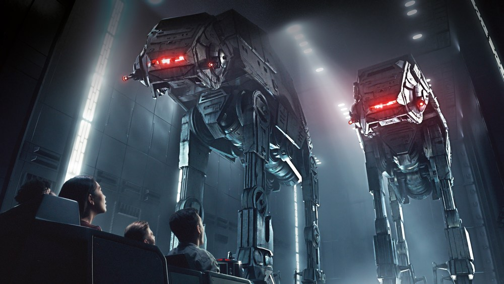 Star Wars: Rise of the Resistance - concept art released by Disney for Star Wars: Galaxy's Edge