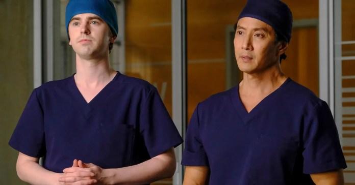 Shaun y Alex en 'El buen doctor'