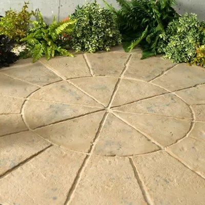 autumn brown minster circle kit l 1800 w 1800mm pack of 20 1 8m