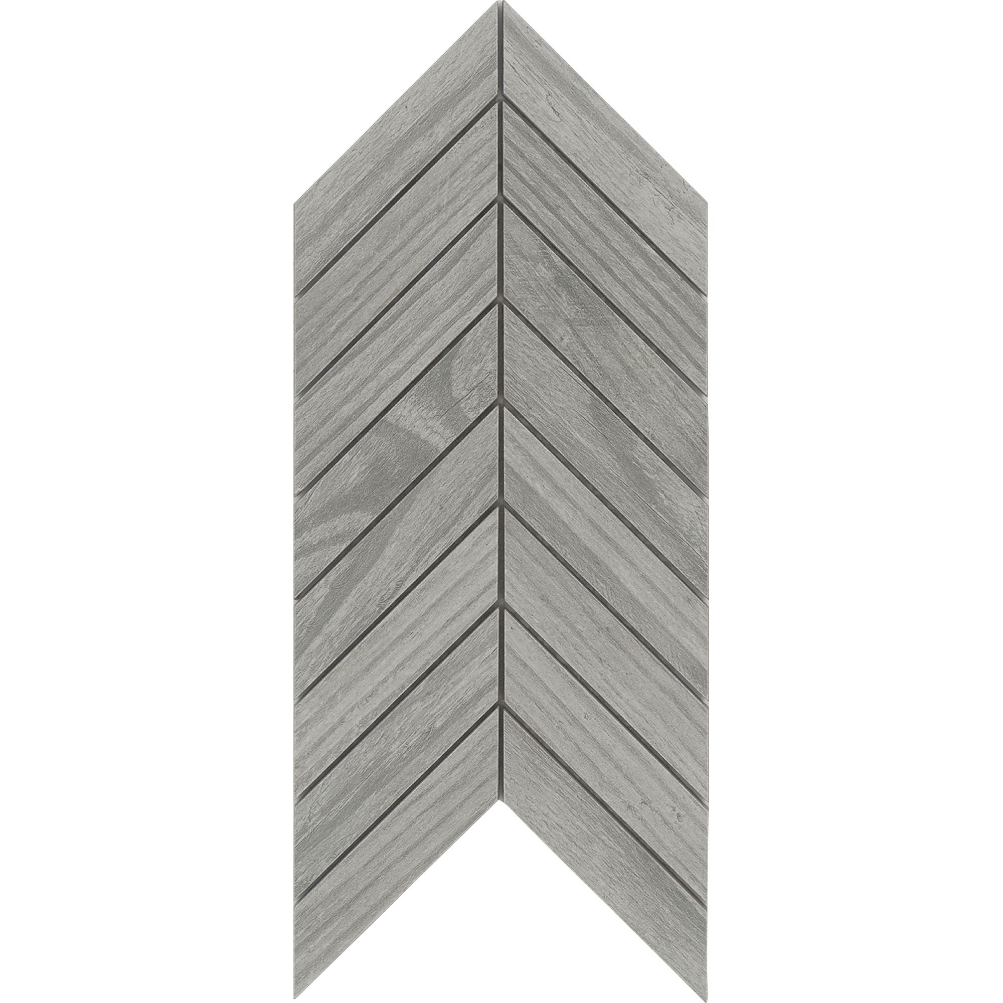 chevron mosaic grey matt wood effect porcelain wall floor tile l 300mm w 155mm
