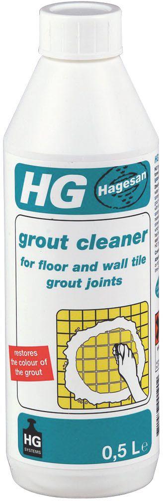 hg grout tile cleaner 0 5l bottle
