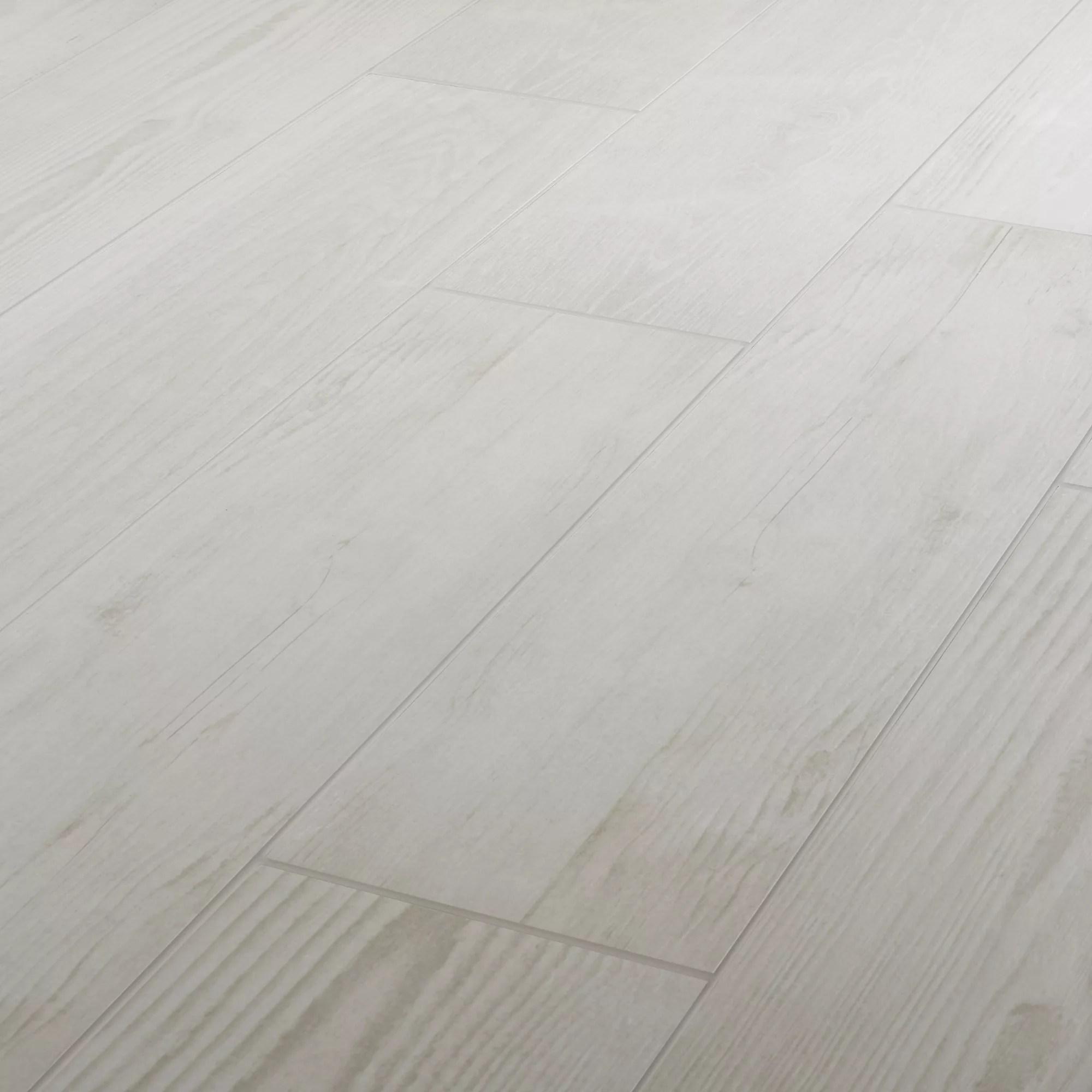 pine wood white matt wood effect porcelain floor tile pack of 8 l 800mm w 200mm