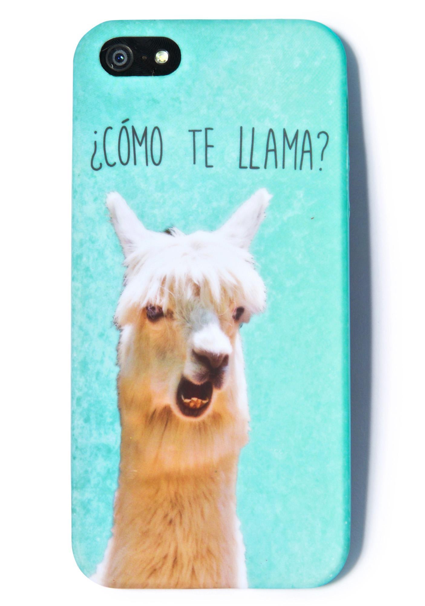 Como Te Llama Iphone 5 Case