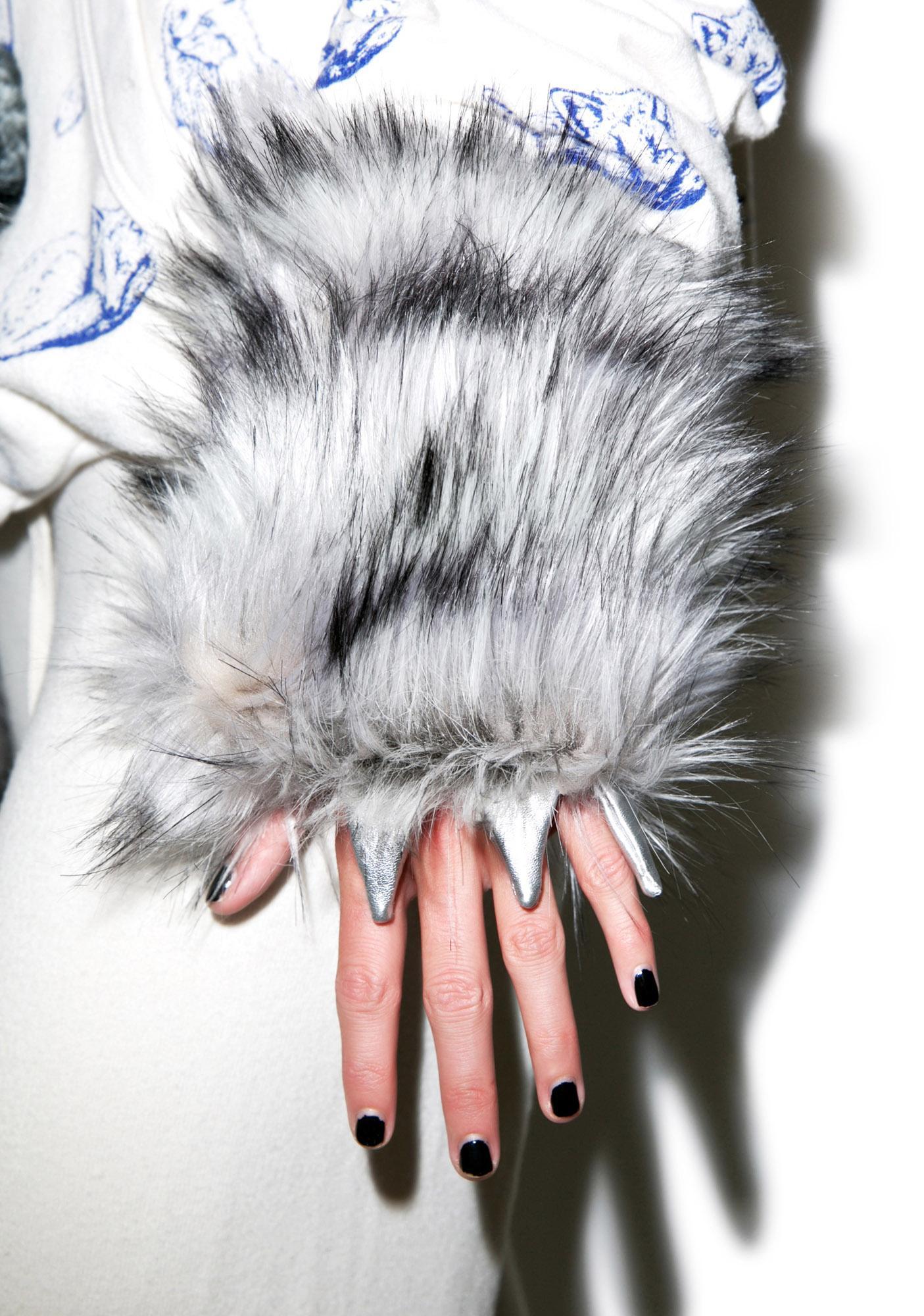 J Valentine Big Bad Wolf Gloves Dolls Kill