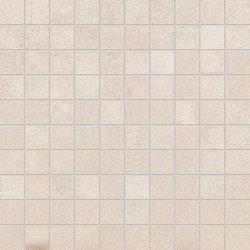 ergon tr3nd mosaico 3x3 ivory natural 30x30