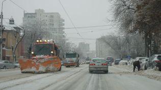 vremea in bucuresti strazi blocate cod portocaliu iarna viscol (25)