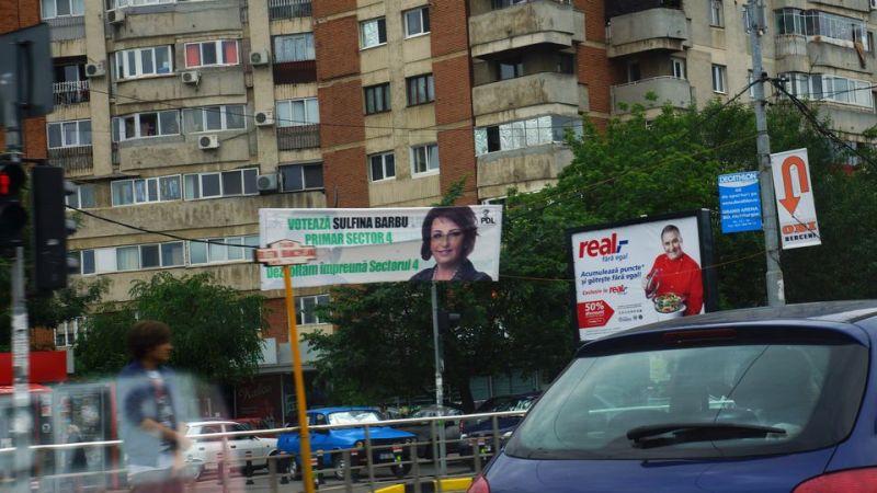 Imaginile campaniei electorale 2012 in Bucuresti
