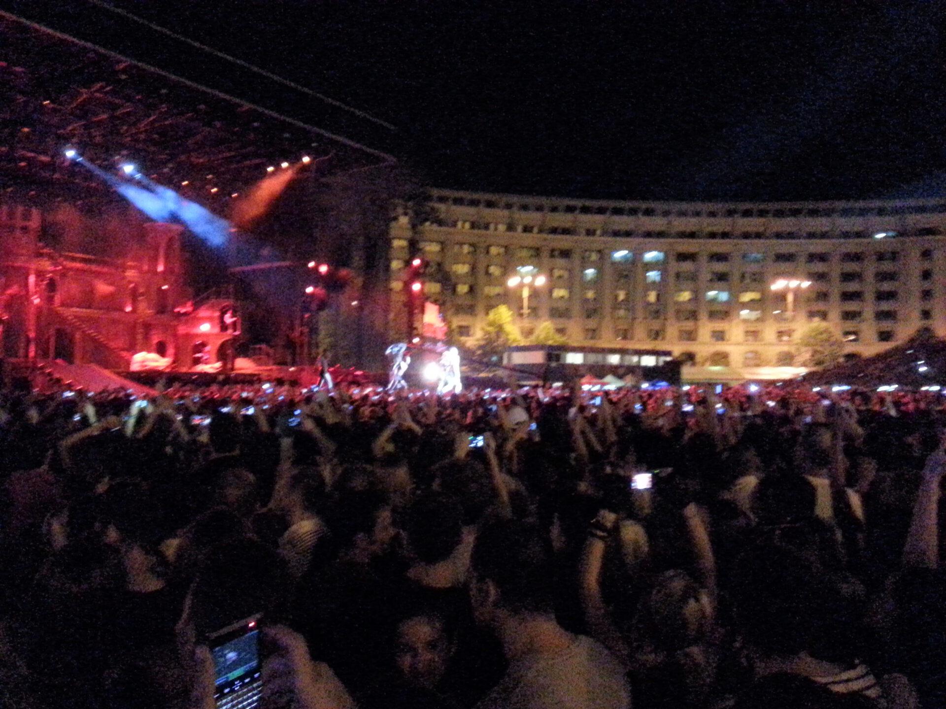 Cum a fost Lady Gaga la Bucuresti