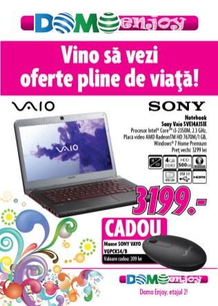 Oferta Domo Enjoy Sony Vaio sve14a1s1e