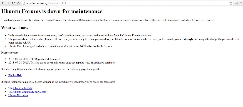 Mai exista forumuri si acestea se sparg