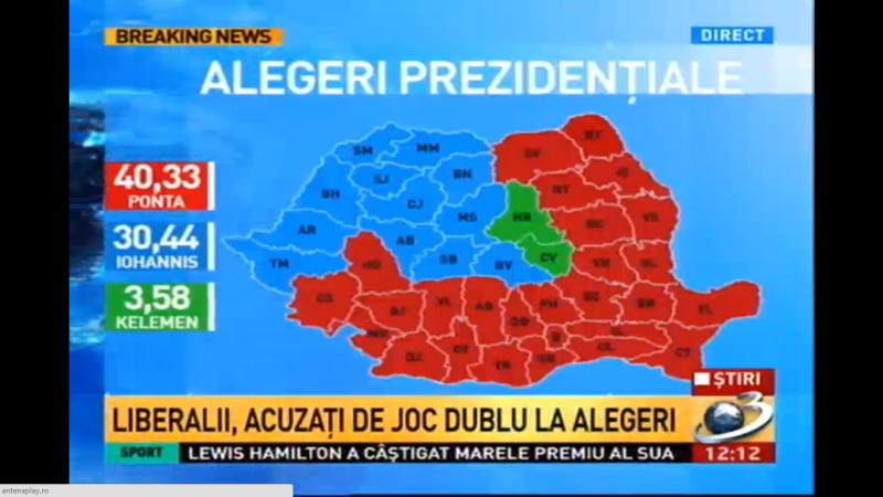 Romania divizata