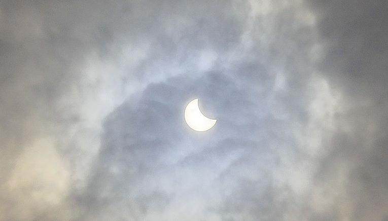 Eclipsa parțială de soare