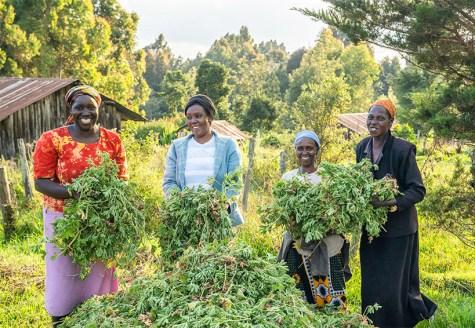 Kenyan farmers