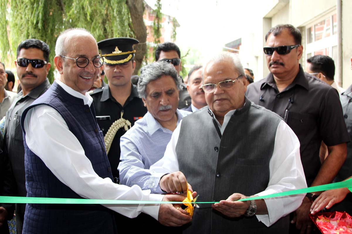 Governor Inaugurates The State Of The Art Learning