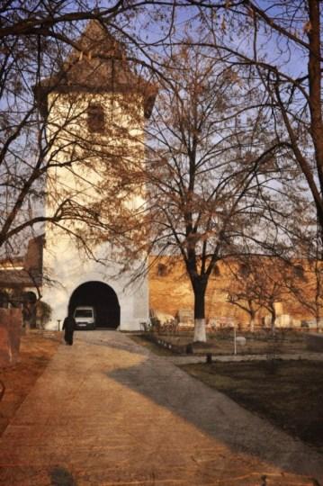 Manastirea Strehaia turn