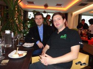 Cu Traian Bădulescu, la lansare