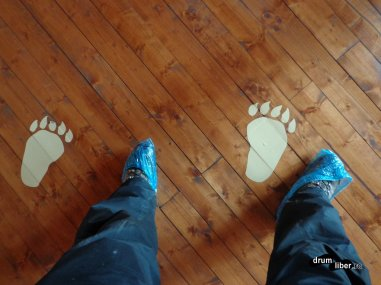 Nu sunt urmele mele...