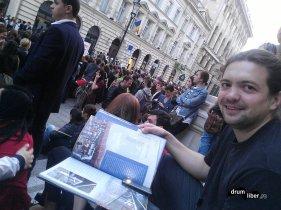 Am și eu o carte cu licurici.. Ghidul Bucureștiului, primit ceva mai devreme
