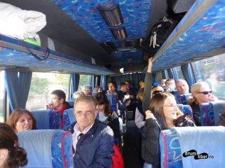 La întoarcere, în autocar