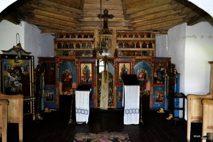 Interior capela familiei