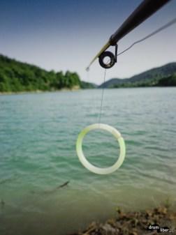 La pescuit pe Lacul Paltinu