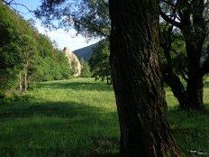 Stânca lui Dionisie, din drum spre bisericuță