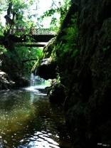 Cascada Bigăr, din lateral