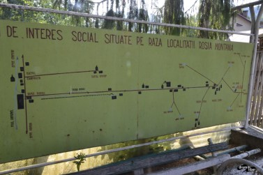 Obiective turistice și de interes social din raza localității Roșia Montană